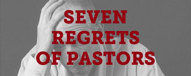 7-regrets-pastors