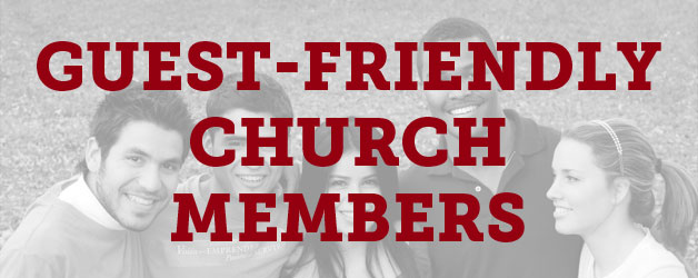 Ten Commandments for Guest-Friendly Church Members