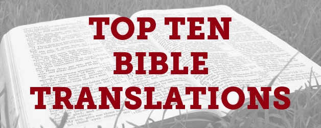 Top Ten Bible Translations in the United States