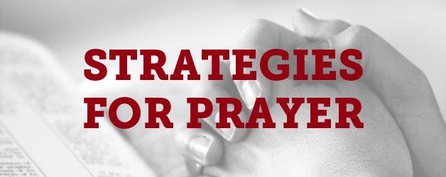 strategies-for-prayer