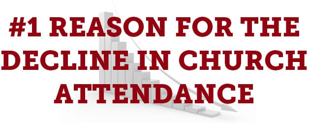 the number one reason for the decline in church attendance and five ways to address it thomrainercom