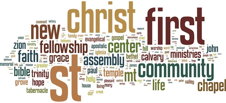 Seven Trends in Church Names