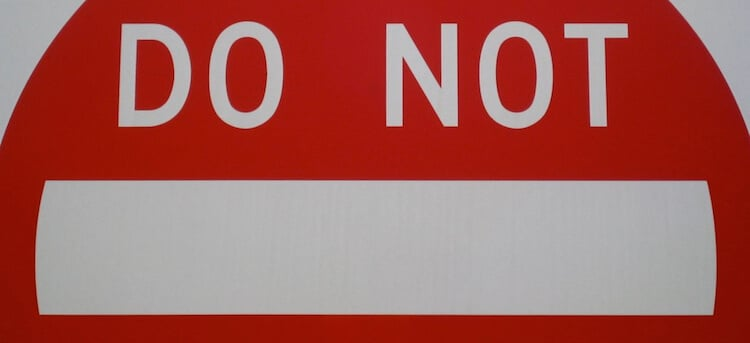 Seven Things Not to Do When Being Considered by a Church