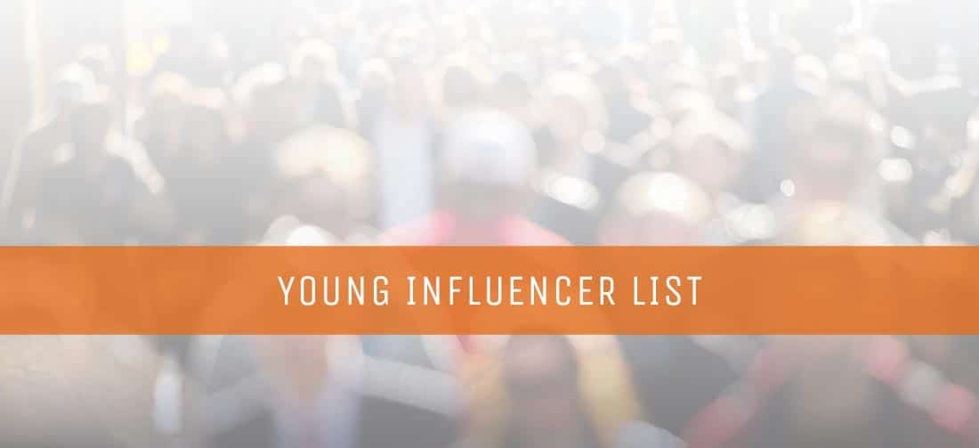 Young influencer list july 2016 thomrainer malvernweather Choice Image