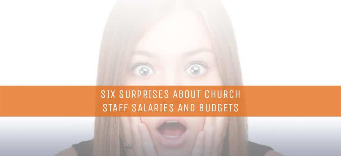 six surprises about church staff salaries and budgets thomrainercom