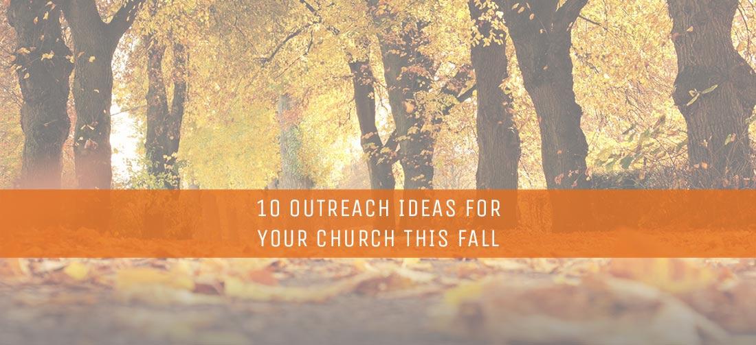 10 OUTREACH IDEAS